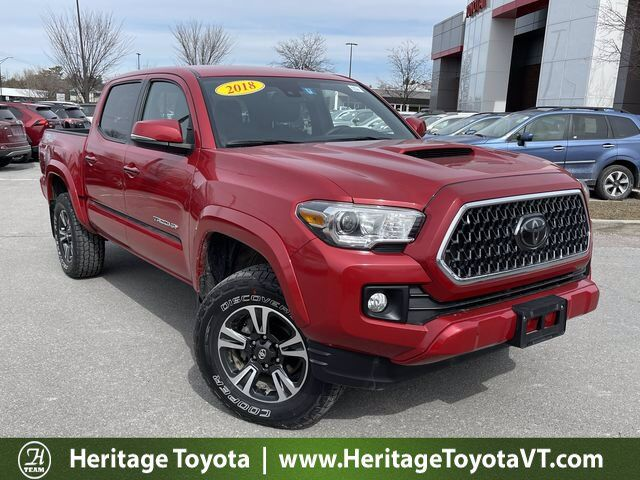 2018 Toyota Tacoma TRD Sport Double Cab 5' Bed V6 4x4 AT South Burlington VT