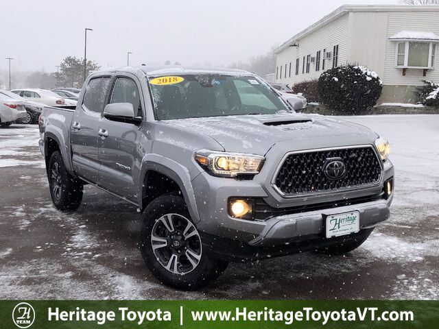 2018 Toyota Tacoma TRD Sport Double Cab 5' Bed V6 4x4 MT South Burlington VT