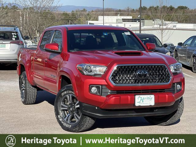 2018 Toyota Tacoma TRD Sport Double Cab 6' Bed V6 4x4 AT South Burlington VT