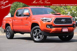 2018 Toyota Tacoma TRD Sport Double Cab Vacaville CA