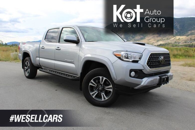 2018 Toyota Tacoma TRD Sport w/ Upgrade Pkg., Low Km's, No Accidents Kelowna BC