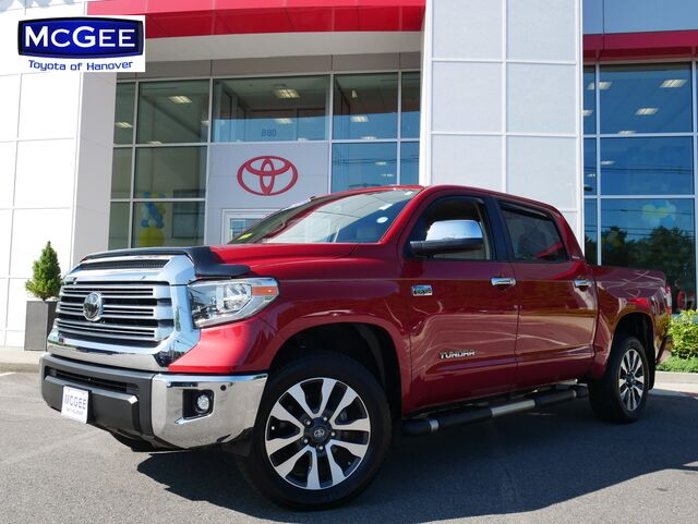 2018_Toyota_Tundra 4WD_Limited CrewMax 5.5' Bed 5.7L_ Hanover MA