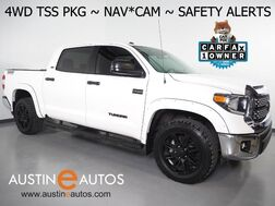 2018_Toyota_Tundra 4WD SR5 CrewMax 5.7L V8_*NAVIGATION, BACKUP-CAMERA, LANE DEPARTURE ALERT, SAFETY SENSE, TOUCH SCREEN, BUCKET SEATS, BLACK ALLOYS, BLUETOOTH PHONE & AUDIO_ Round Rock TX