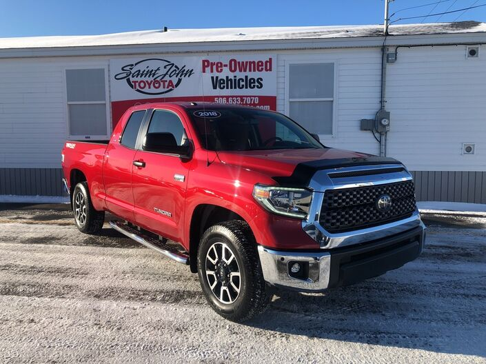 2018 Toyota Tundra 4x4 Double Cab TRD Off-Road 5.7L Saint John NB