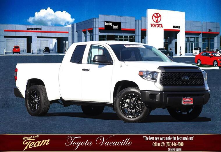 2018 Toyota Tundra Double Cab Sr Pickup  6 1/2 Ft Vacaville CA