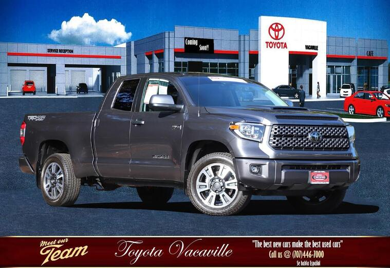 2018 Toyota Tundra Double Cab Sr5 Pickup  6 1/2 Ft Vacaville CA