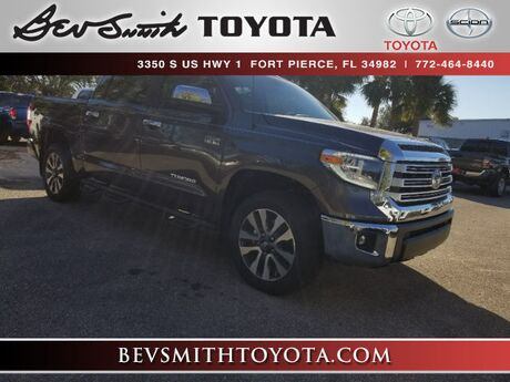 2018 Toyota Tundra Limited 5.7L V8 4x4 CrewMax Fort Pierce FL