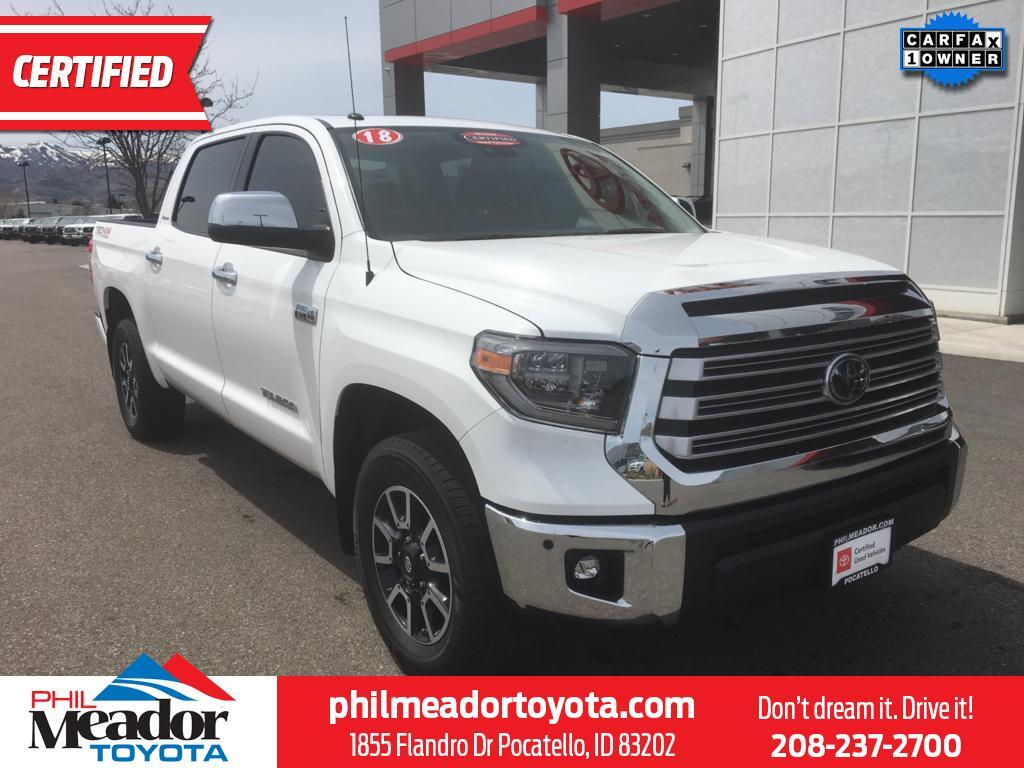 2018 Toyota Tundra Limited Pocatello ID