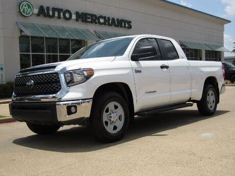 2018 Toyota Tundra SR5 5.7L V8 Double Cab 2WD *SR5 Upgrade Package* CLOTH SEATS, BACKUP CAMERA, BLUETOOTH CONNECTIVITY Plano TX