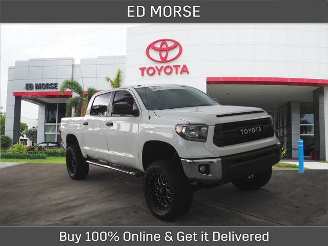 2018 Toyota Tundra SR5 LIFTED WITH OFF ROAD TIRES Delray Beach FL