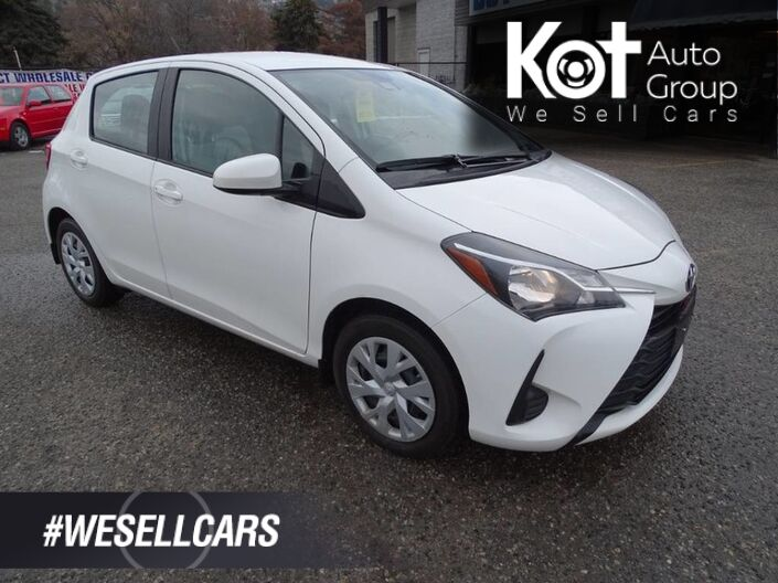 2018 Toyota Yaris Hatchback LE, Bluetooth, Heated Seats, Back-up Camera Kelowna BC