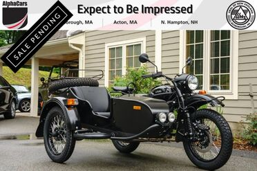 2018_Ural_Gear Up_2WD Black Flat Custom_ Boxborough MA