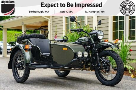 2018 Ural Gear Up 2WD Cascade Green Custom Boxborough MA