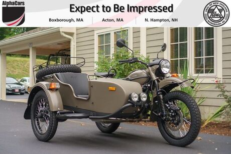 2018 Ural Gear Up 2WD OD Green Custom Boxborough MA