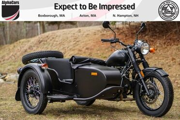 2018_Ural_M70_Flat Black Custom_ Boxborough MA