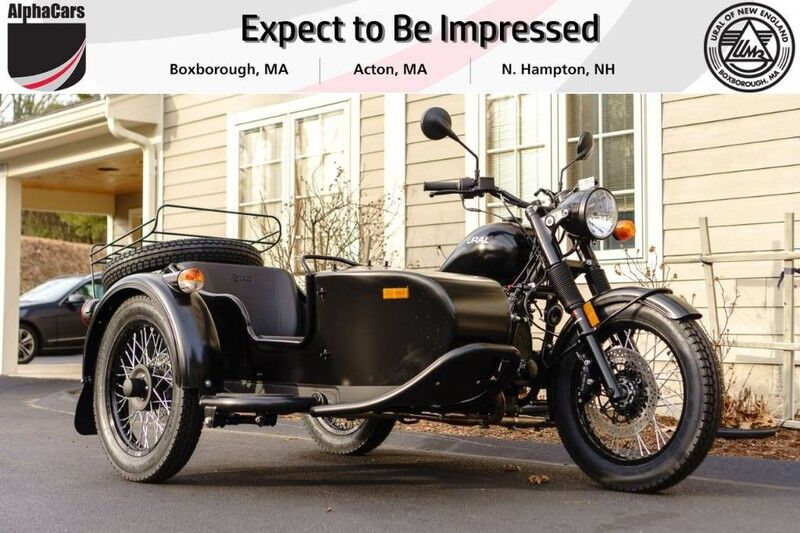 2018 Ural M70 Flat Black Custom Boxborough MA