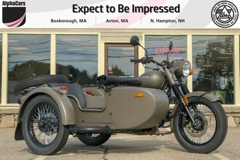 2018 Ural M70 OD Green Custom Boxborough MA