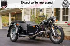 2018 Ural Retro 1WD Black Gloss