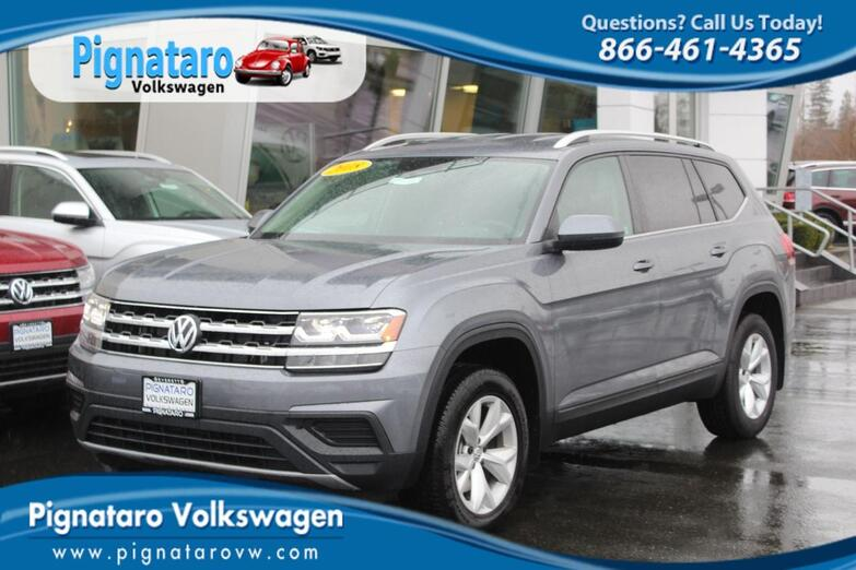 2018 VOLKSWAGEN Atlas 3.6L V6 S 4MOTION Everett WA