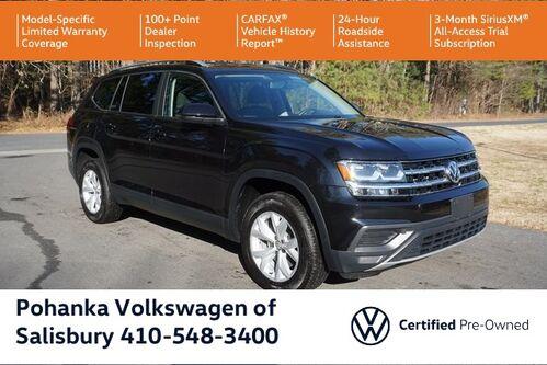 2018_Volkswagen_Atlas_2.0T S ** VW CERTIFIED ** 7 YEAR / 84K MILE WARRANTY **_ Salisbury MD