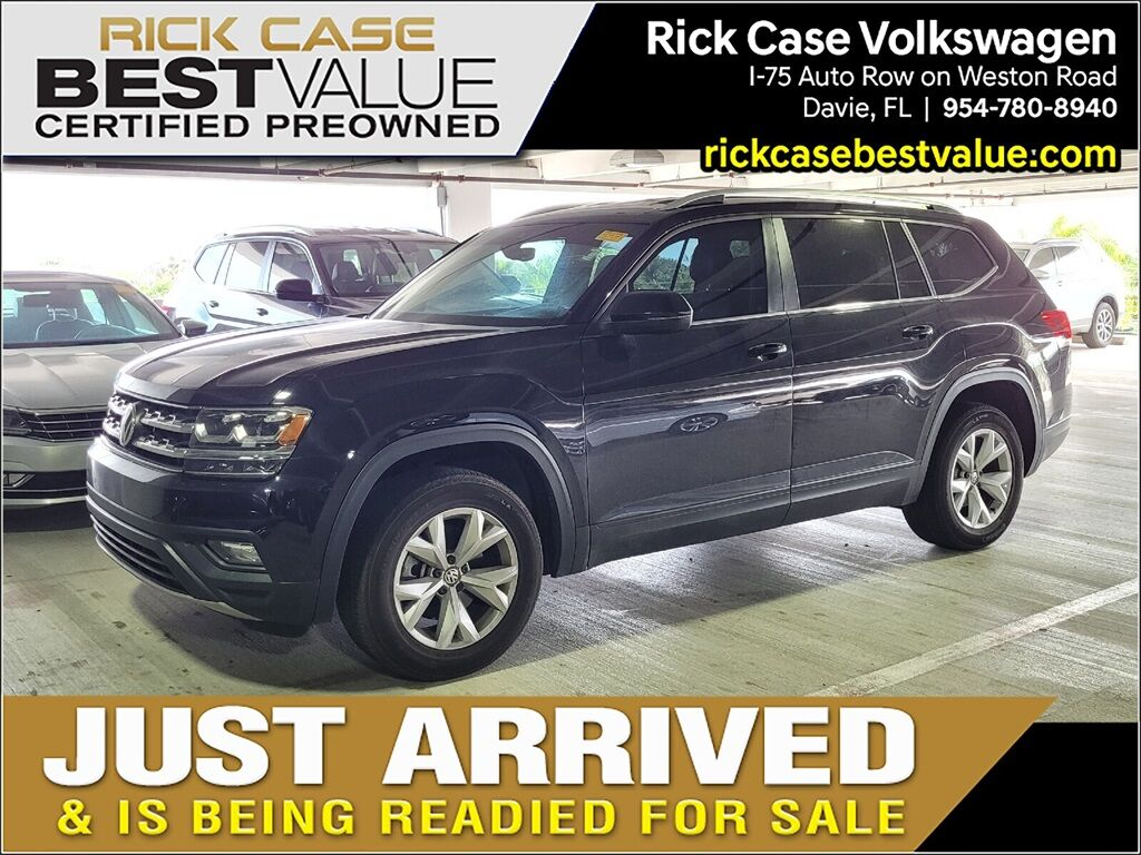 2018 Volkswagen Atlas 2.0T SE w/Technology Davie FL