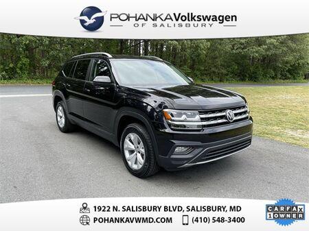 2018_Volkswagen_Atlas_3.6L V6 SE 4Motion ** CERTIFIED WARRANTY **_ Salisbury MD