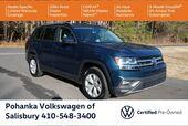 2018 Volkswagen Atlas 3.6L V6 SE 4Motion ** VW CERTIFIED ** 7 YEAR WARRANTY **