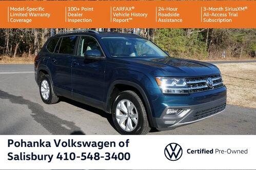 2018_Volkswagen_Atlas_3.6L V6 SE 4Motion ** VW CERTIFIED ** 7 YEAR WARRANTY **_ Salisbury MD