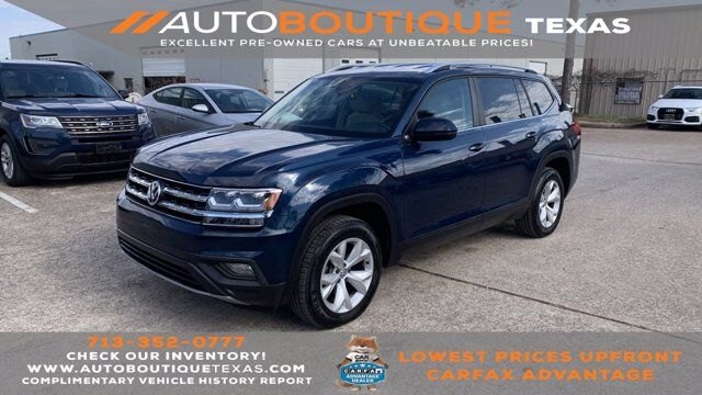 2018 Volkswagen Atlas 3.6L V6 SE Houston TX