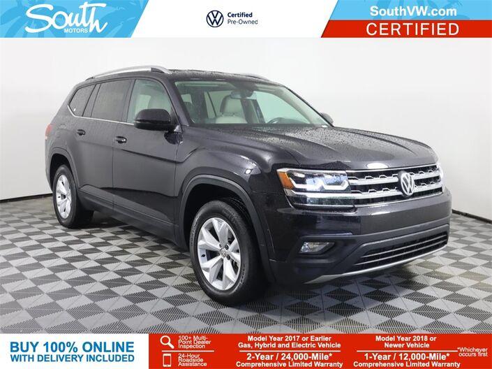 2018 Volkswagen Atlas 3.6L V6 SE Miami FL