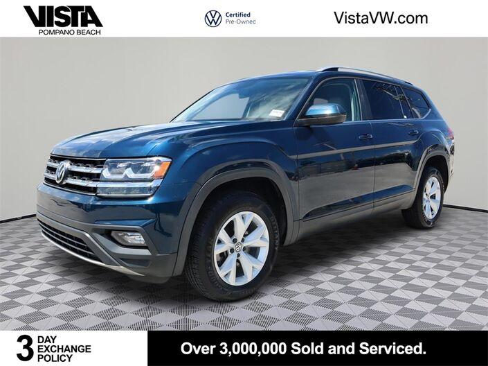 2018 Volkswagen Atlas 3.6L V6 SE Pompano Beach FL