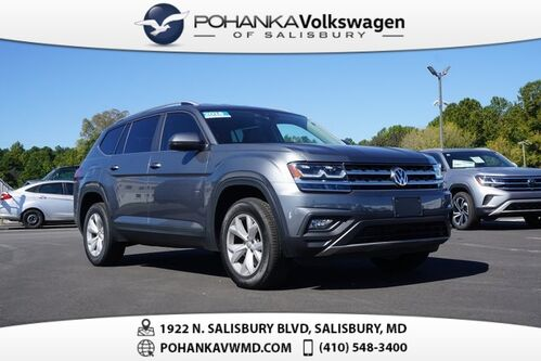 2018_Volkswagen_Atlas_3.6L V6 SE w/Technology ** 0% FINANCING AVAILABLE **_ Salisbury MD