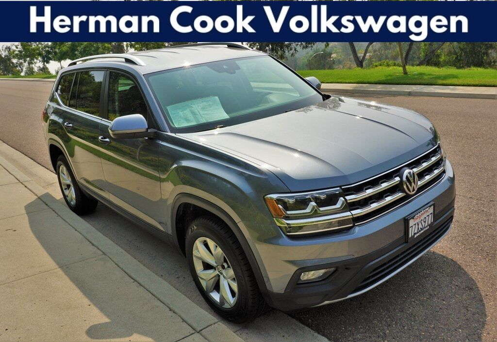 2018 Volkswagen Atlas 3.6L V6 SE w/Technology 4Motion Encinitas CA