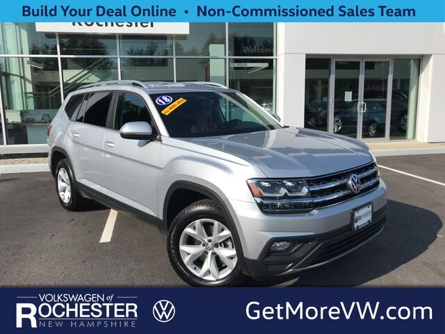 2018 Volkswagen Atlas 3.6L V6 SE w/Technology 4Motion Rochester NH