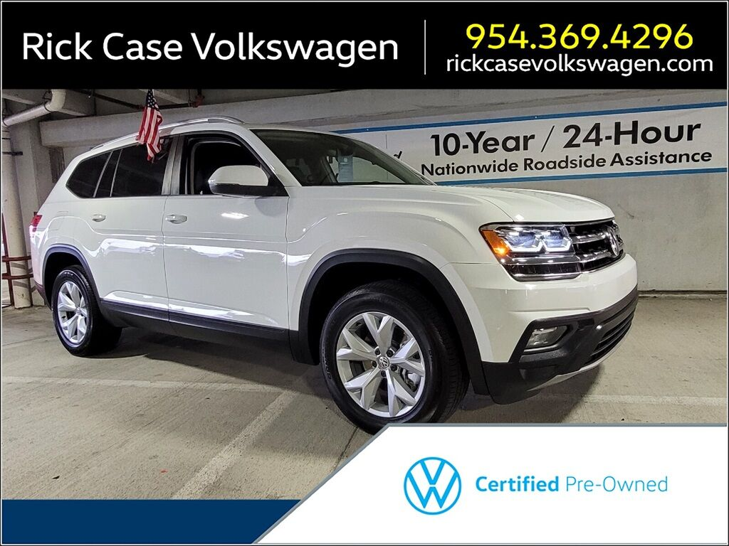 2018 Volkswagen Atlas 3.6L V6 SE w/Technology Davie FL