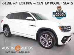 2018_Volkswagen_Atlas 3.6L V6 SE w/Technology_*R LINE PKG, 2ND ROW BUCKET SEATS, BLIND SPOT ALERT, LANE KEEP ASSIST, BACKUP-CAMERA, ADAPTIVE CRUISE, TOUCH SCREEN, POWER LIFTGATE, HEATED SEATS, REMOTE START, BLUETOOTH, APPLE CARPLAY_ Round Rock TX