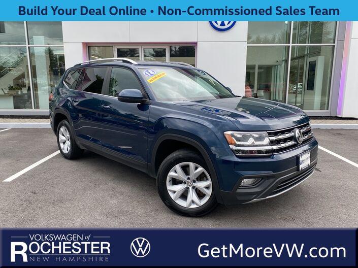 2018 Volkswagen Atlas 3.6L V6 SE w/Technology Rochester NH