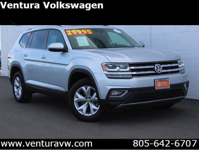 2018 Volkswagen Atlas 3.6L V6 SEL 4MOTION Ventura CA
