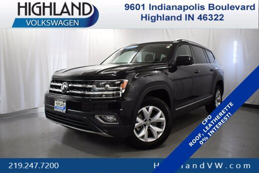 2018 Volkswagen Atlas 3.6L V6 SEL Highland IN