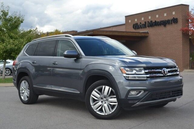 2018 Volkswagen Atlas 3.6L V6 SEL Premium/4Motion AWD/Tow Pkg/Blind Spot Monitor/Adaptive Cruise/Nav/Rear&Top View Cams/Heated&Cooled Seats/Panoramic Sunroof/3rd Row Seating/Like New Nashville TN