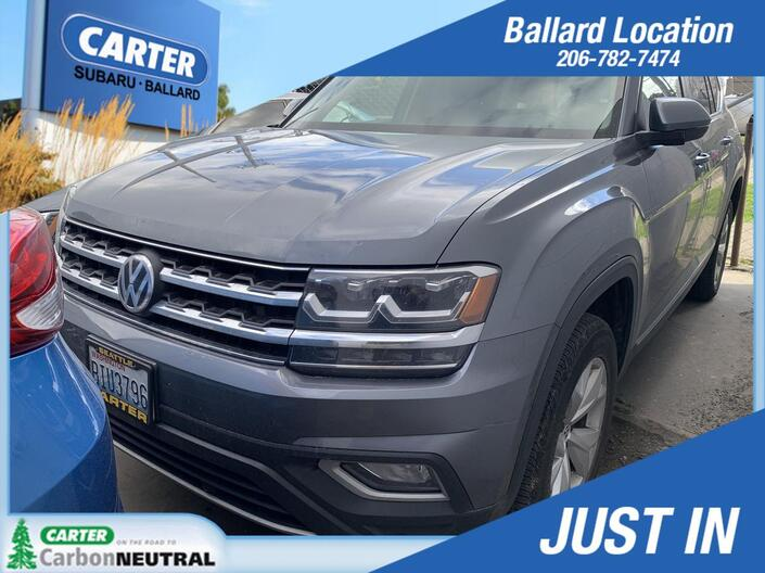 2018 Volkswagen Atlas 3.6L V6 SEL Seattle WA