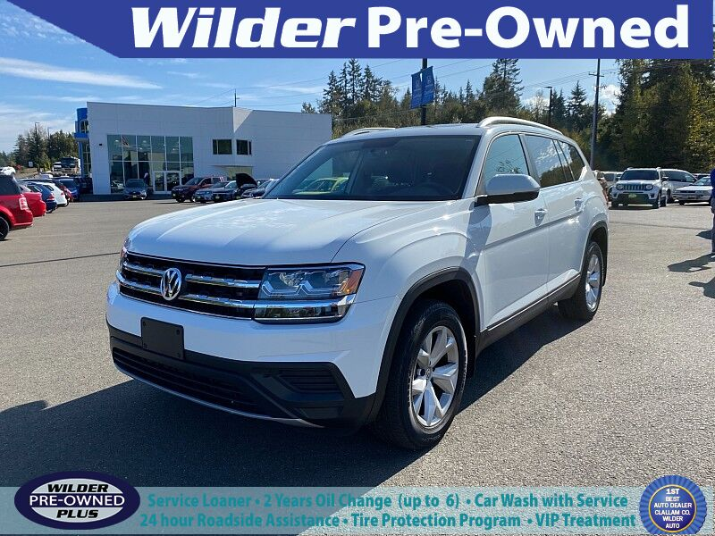 2018 Volkswagen Atlas 4d SUV 3.6L Launch Edition 4motion Port Angeles WA