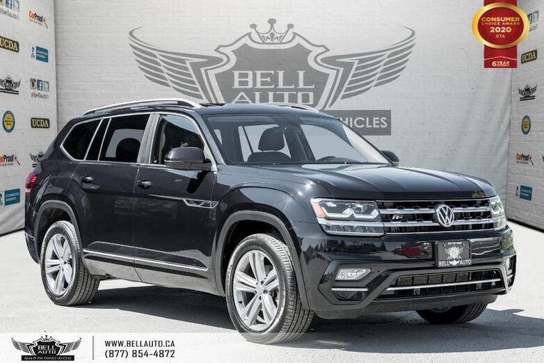 2018 Volkswagen Atlas Highline, R-LINE, NO ACCIDENT, V6, AWD, 7 PASS, NAVI Toronto ON
