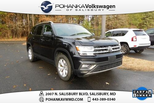 2018_Volkswagen_Atlas_SE ** CERTIFIED ** LEATHER ** THIRD ROW **_ Salisbury MD