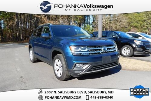 2018_Volkswagen_Atlas_SE ** ONE OWNER ** CERTIFIED **_ Salisbury MD
