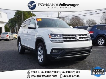2018_Volkswagen_Atlas_SE  w/Technology ** ONE OWNER ** CERTIFIED **_ Salisbury MD
