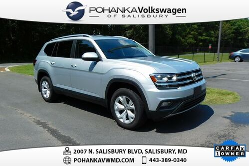 2018_Volkswagen_Atlas_SE w/Technology 4Motion ** CERTIFIED ** ONE OWNER ** THIRD ROW **_ Salisbury MD