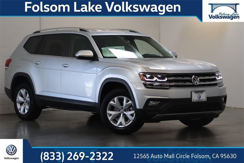 2018 Volkswagen Atlas SE w/Technology and 4Motion Folsom CA
