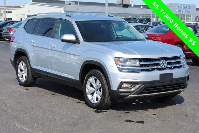 2018 Volkswagen Atlas SE w/Technology and 4Motion Green Bay WI
