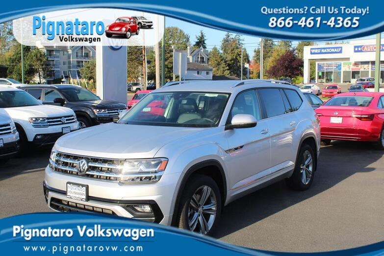 2018 Volkswagen Atlas SE with Technology and 4MOTION® Everett WA